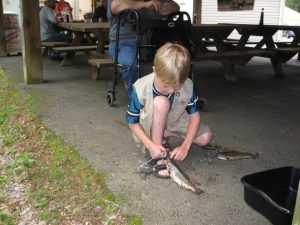 Saucon Creek Fishing