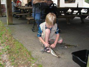 Saucon Creek Fishing